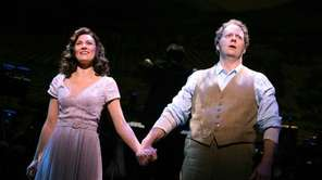 "Laura Benanti and Shuler Hensley in ""The Most"