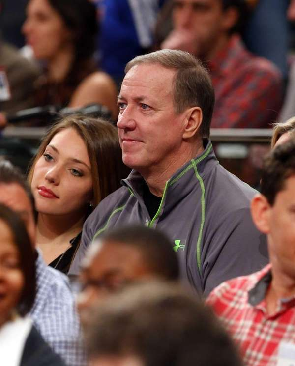Hall of Fame NFL quarterback Jim Kelly attends