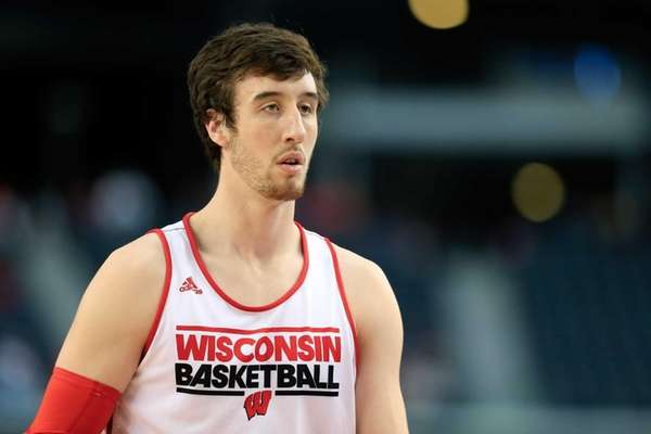 Frank Kaminsky of the Wisconsin Badgers on the