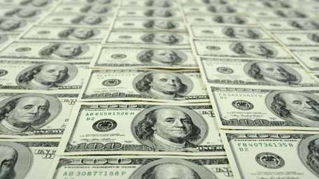 A stock photograph of money.