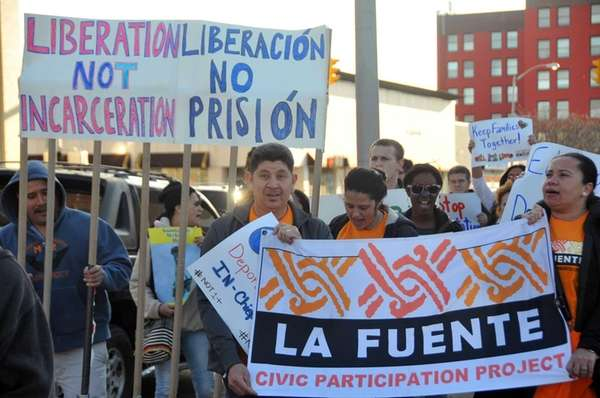 Several organizations rallied in support of immigration reform