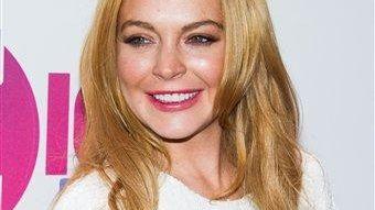 Lindsay Lohan attends Z100's Jingle Ball Friday, Dec.