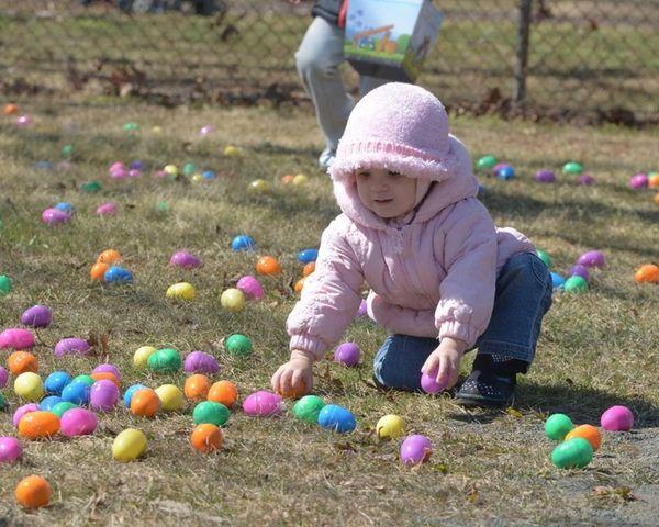 The Spring Egg Hunt at Belmont Lake State