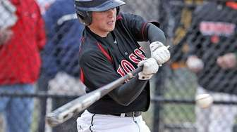 Syosset's Alex Perry connects for a solo home