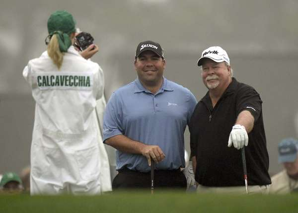 Craig Stadler, left, and his son Kevin Stadler