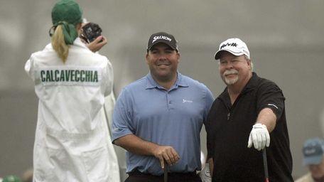 Craig Stadler, left, and his son Kevin Stadler