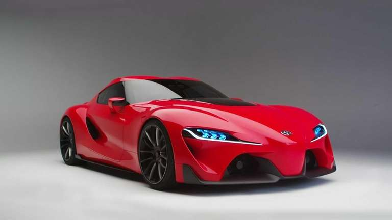 Fabulous Toyota FT-1 Concept Is Ready to Drive.