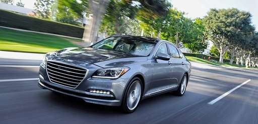 The 2015 Hyundai Genesis will be on exhibit
