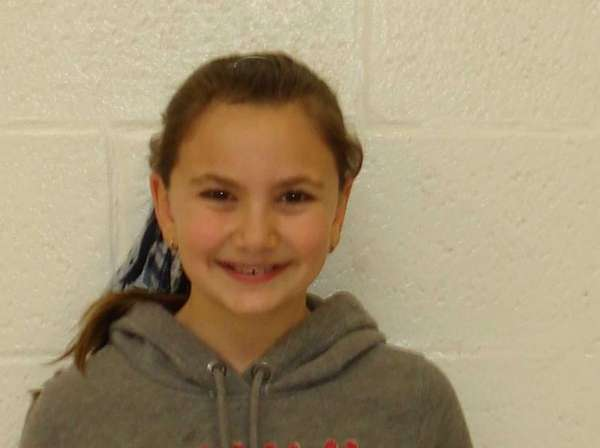 Madelyn Marinelli, a fifth-grader at Commack Road Elementary