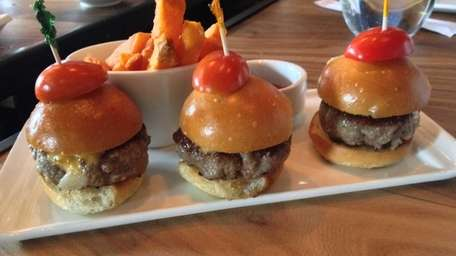 Kobe beef sliders are an appetizer at Nisen