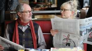 "Jim Broadbent and Lindsay Duncan in ""Le Week-End."""