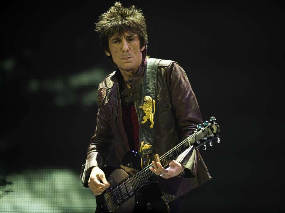 Ron Wood was inducted with The Rolling Stones