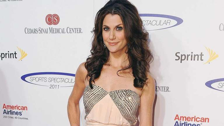 Samantha Harris arrives at The 26th Sports Spectacular