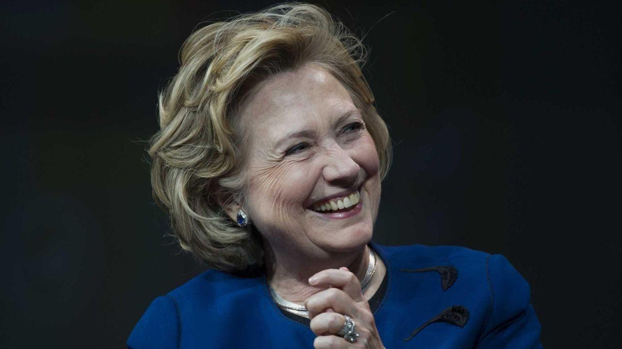 Hillary Clinton at the Marketo Marketing Nation Summit