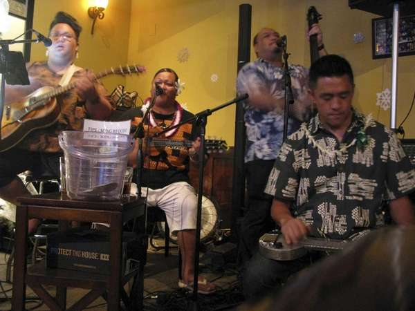 A band performs at Chiko�s, a bar in