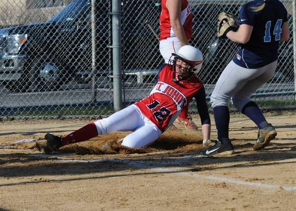 St. John the Baptist's Taylor Fay beats the