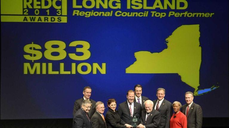 LI regional development council members celebrate local awards