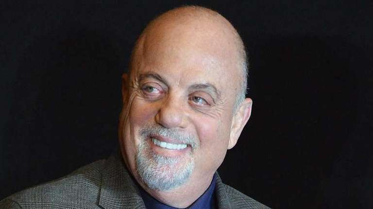 Billy Joel attends Madison Square Garden's announcement of