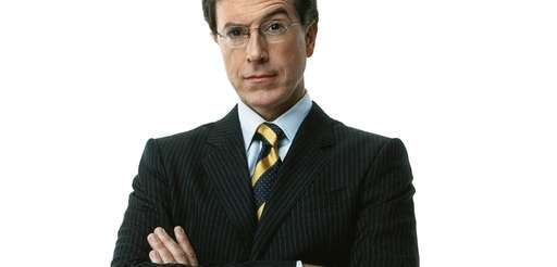 "Stephen Colbert, host of ""The Colbert Report"" on"