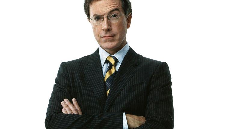 Stephen Colbert, host of