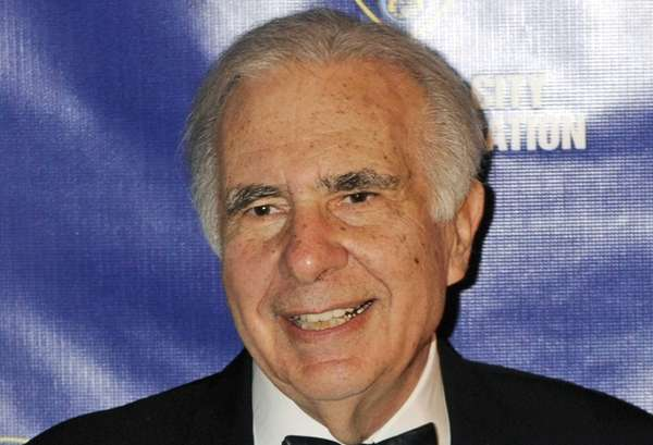Carl Icahn at the annual New York City