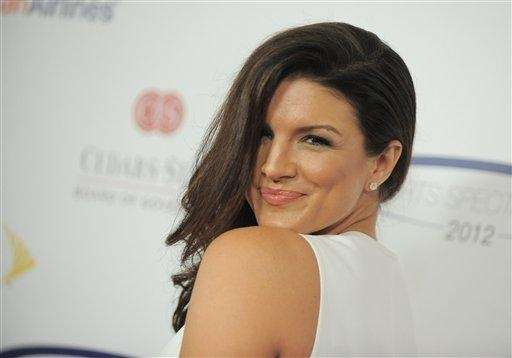 Gina Carano attends the
