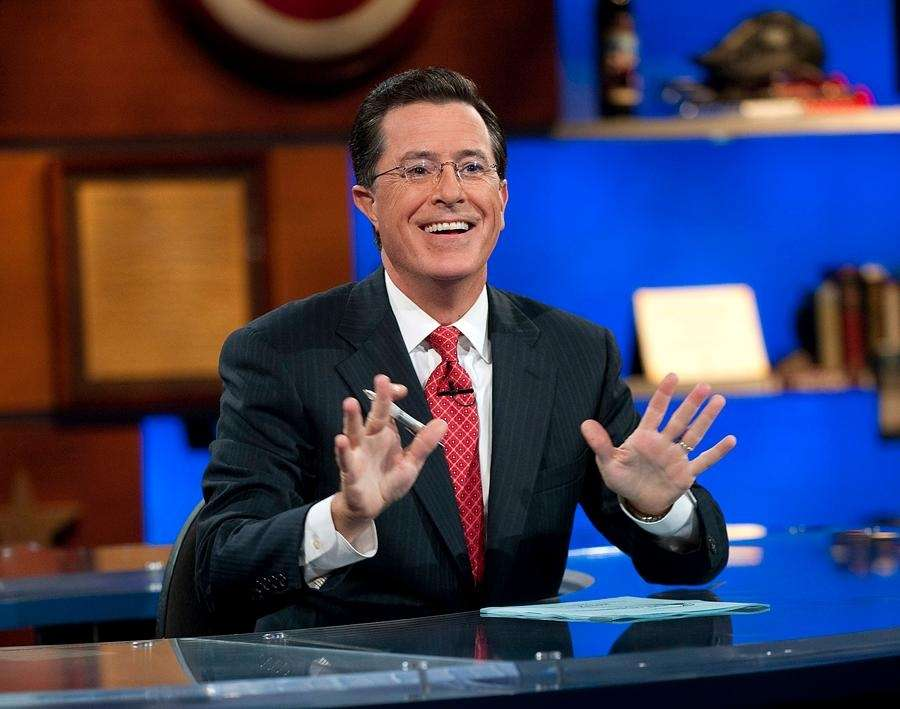 Stephen Colbert took over for David Letterman as