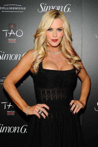 Actress and former Playboy model Jenny McCarthy.