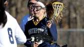 Northport's Gabbi Lubuskes moves the ball to the
