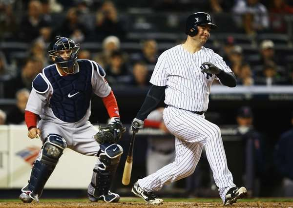 Brian McCann hits a double and drives in