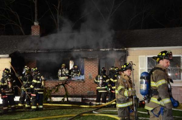 Officials said volunteers from Smithtown, Kings Park, Nesconset
