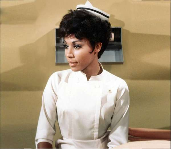 Diahann Carroll as Julia, TV's first African-American woman