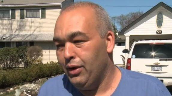 Anthony Joseph speaks with Newsday as authorities raid
