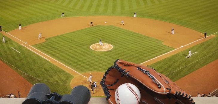 Baseball field.