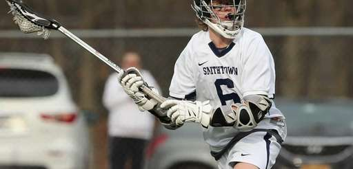 Smithtown West's Ryan Keenan looks to pass up