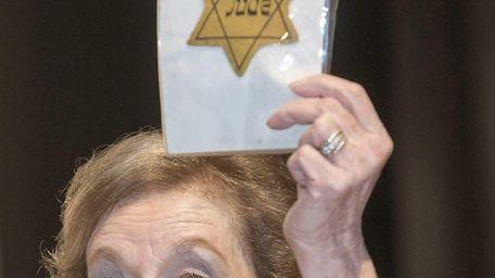 Marion Blumenthal Lazan, a holocaust survivor and co-author
