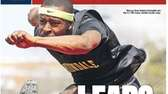 Uniondale's Marcus Gray landed on the cover of