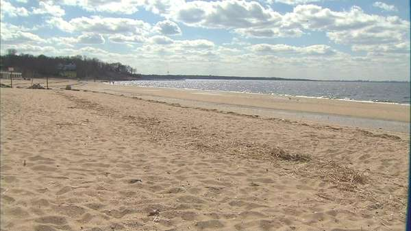 This file photo shows Crescent Beach.