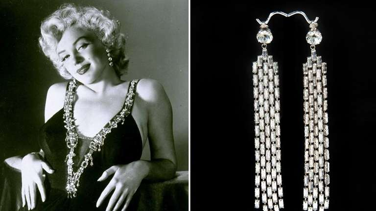 Marilyn Monroe Earrings At Auction For 185 000
