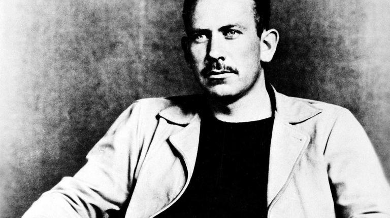 American author John Steinbeck, winner of the 1940