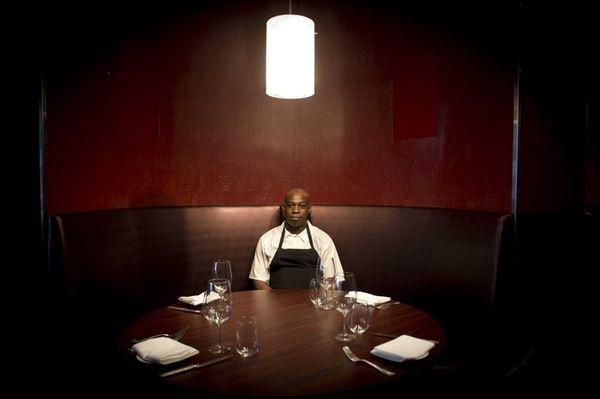 Chef de cuisine Kwaku Boah in the Lola