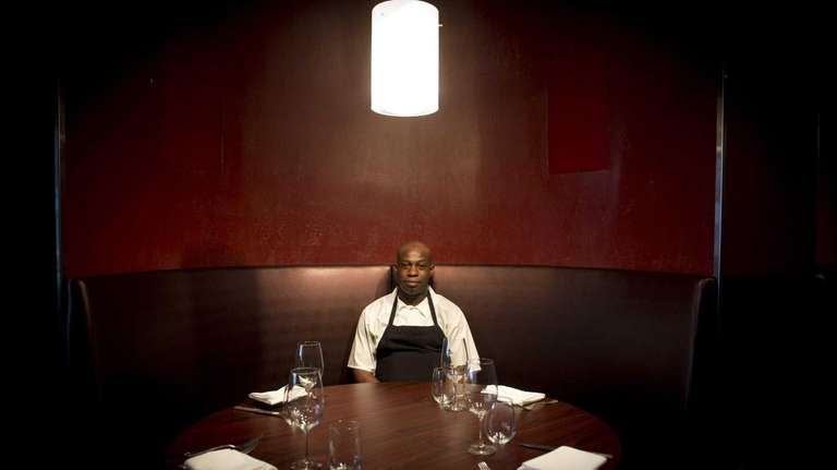Chef de cuisine Kwaku Boah in the Lola