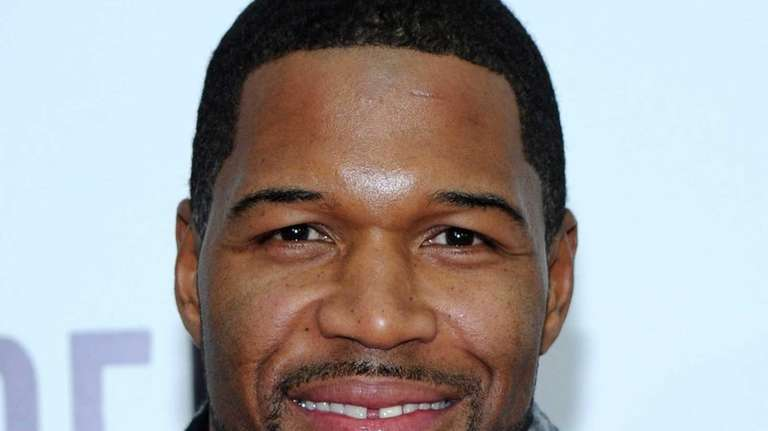 Michael Strahan attends the New York premiere of
