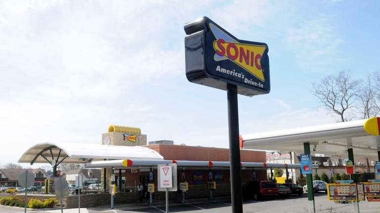A view of the Sonic restaurant at 1380