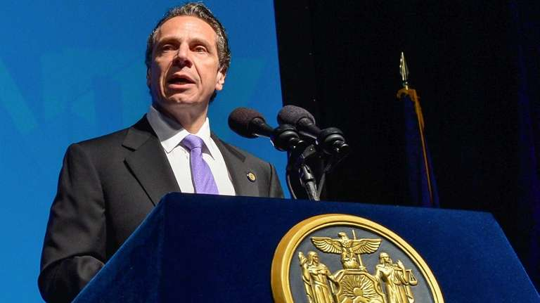 Gov. Andrew Cuomo highlights the New York State