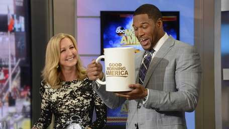 Michael Strahan makes his debut as newest correspondent