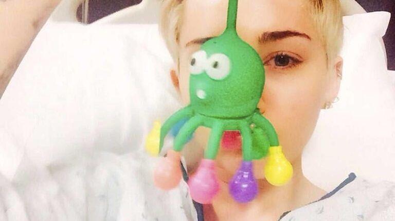 Pop star Miley Cyrus has canceled a concert