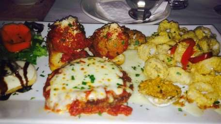 Hot antipasto at Nick's Tuscan Grill in Mineola