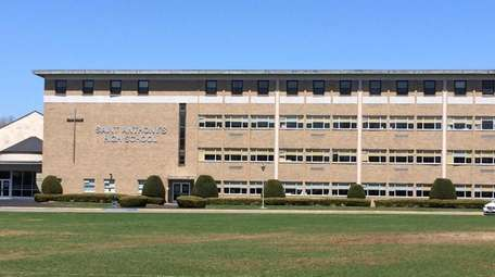 Exterior of St. Anthony's High School in South