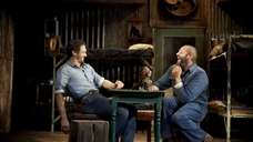 James Franco, left, and Chris O'Dowd in John